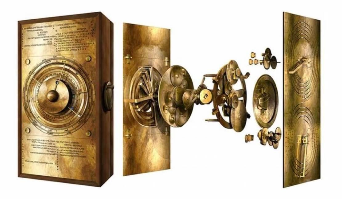 Odtworzony przez naukowców Mechanizm z Antykithiry w modelowaniu 3D