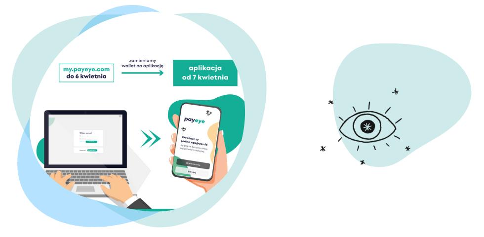 Aplikacja mobilna PayEye od 7 kwietnia 2021 r.