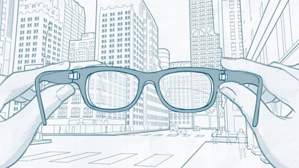 Facebook AR Glasses (inteligentne okulary AR)