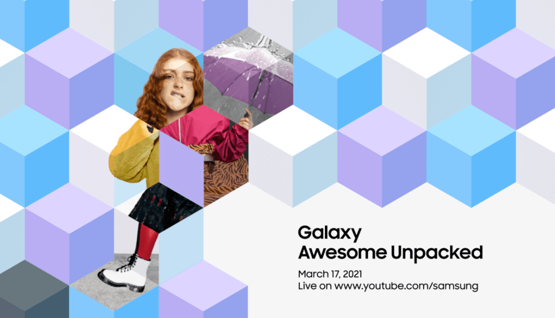 Samsung Galaxy Awesome Unpacked (marzec 2021)