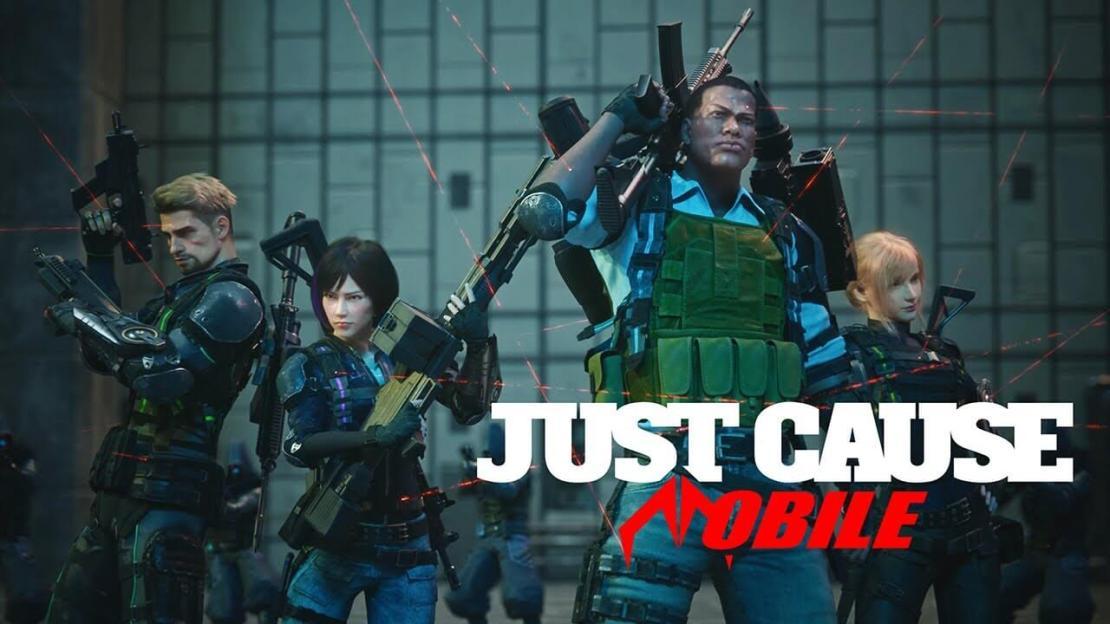 "Gra ""Just Cause Mobile"" od Square Enix"