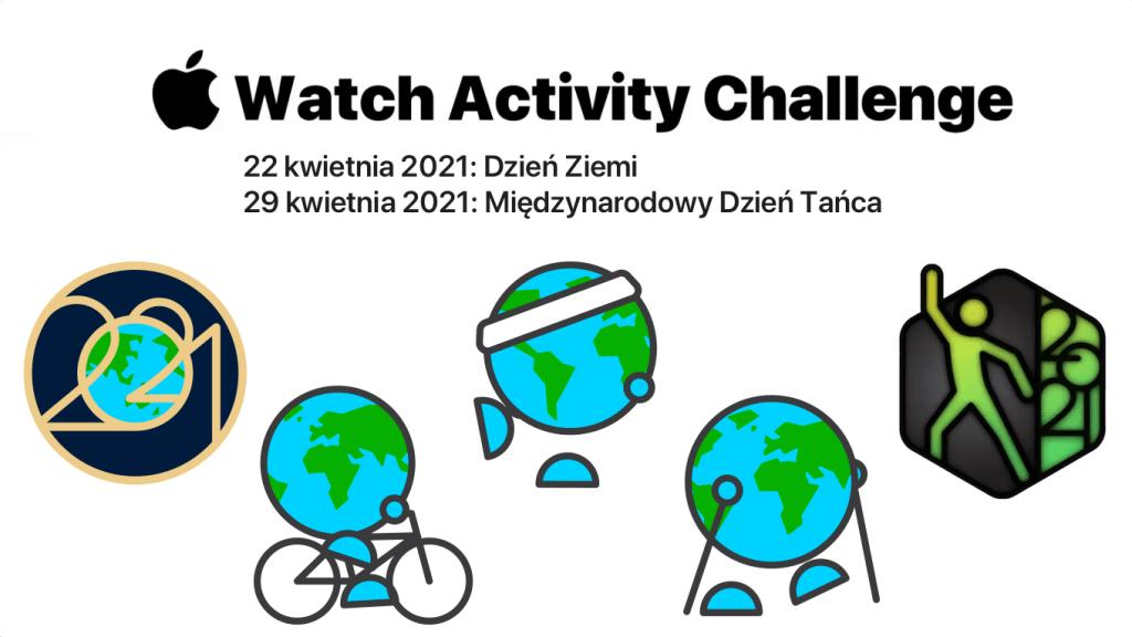 Apple Watch Challenge 2021 z okazji Dnia Ziemi i Tańca