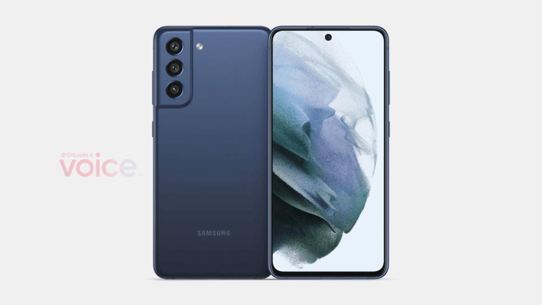 Samsung Galaxy S21 FE 5G (render)