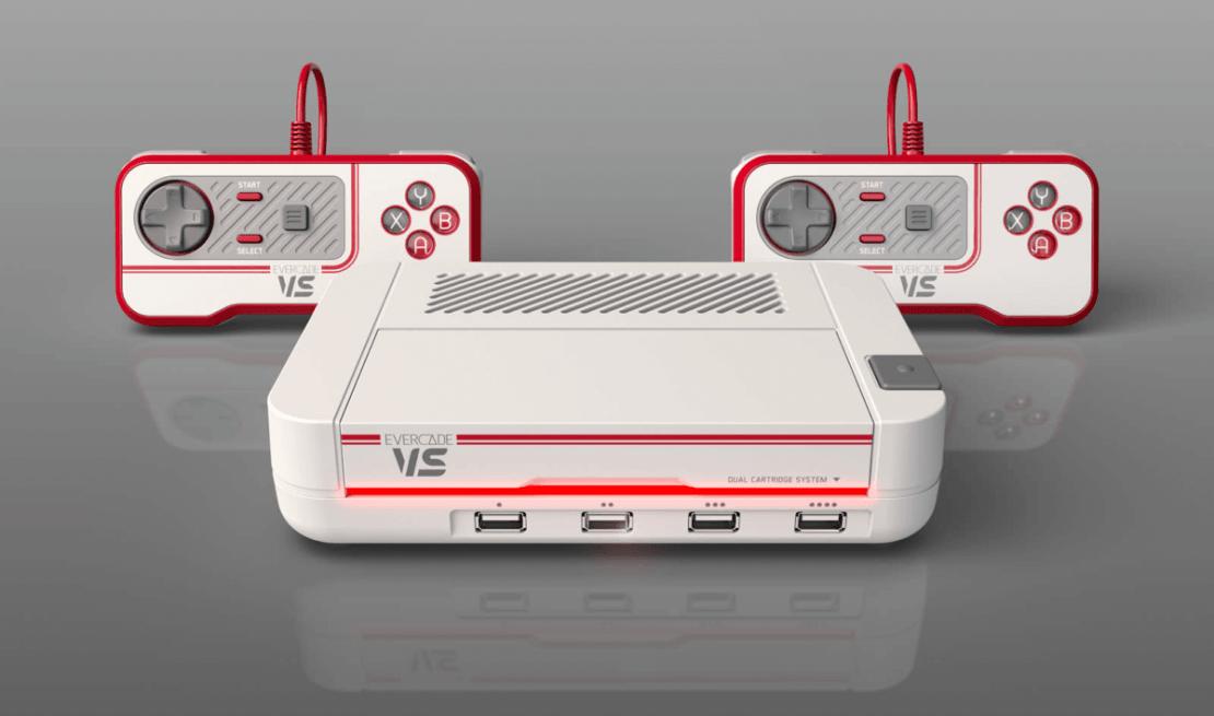 Konsola retro Evercade VR z 2021 r.