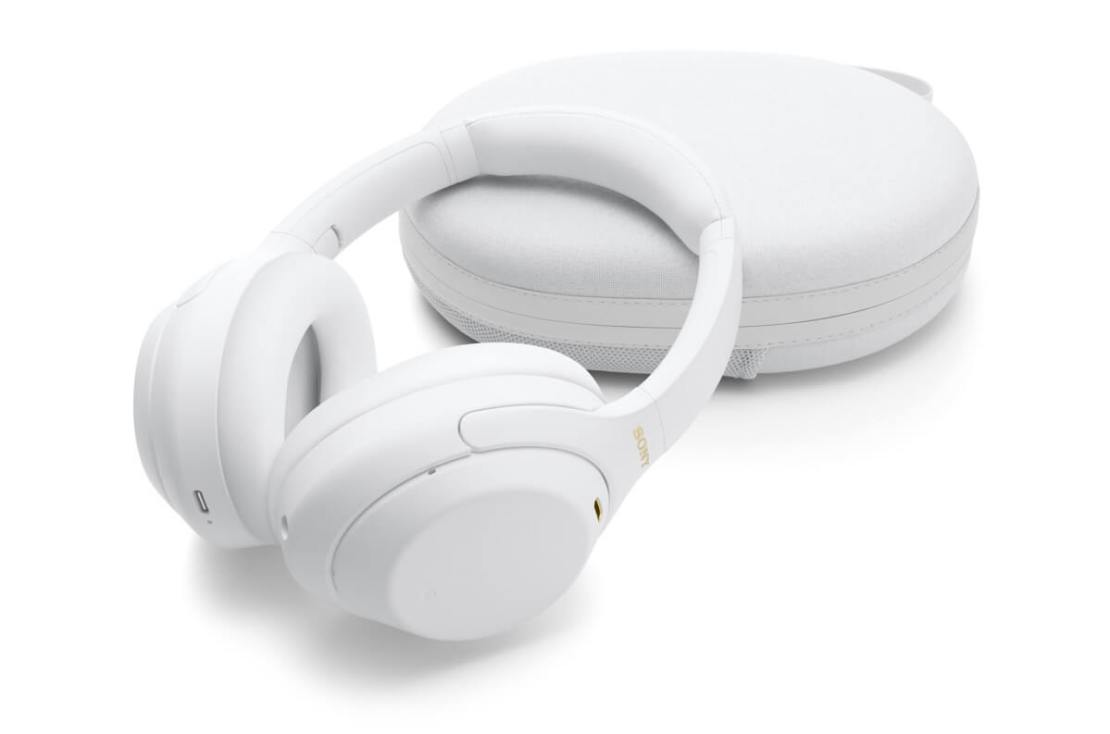 Słuchawki SONY Silent White WH-1000XM4