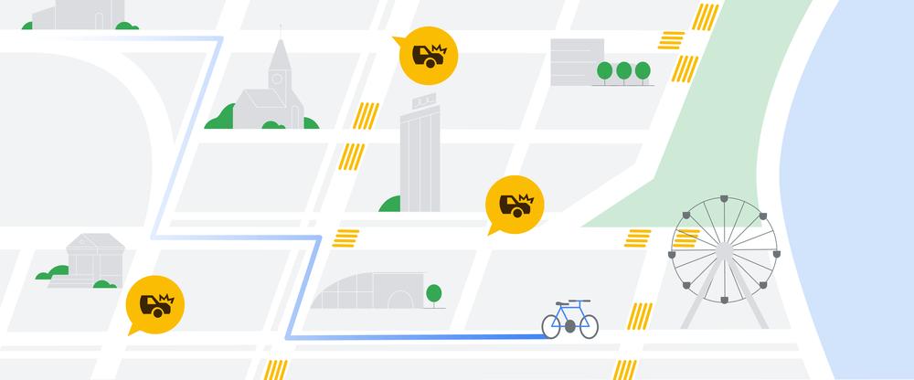 Nowości w Mapach Google