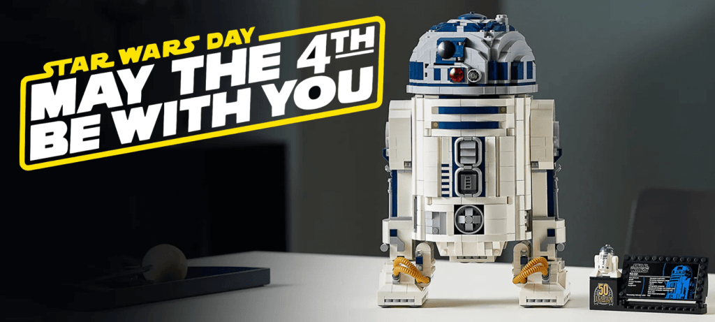R2D2 z LEGO - May the 4th be with You 2021