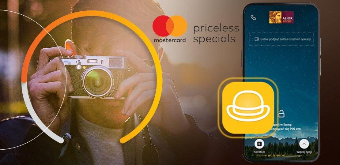 Mastercard Bezcenne Chwile w aplikacji mobilnej Alior Mobile