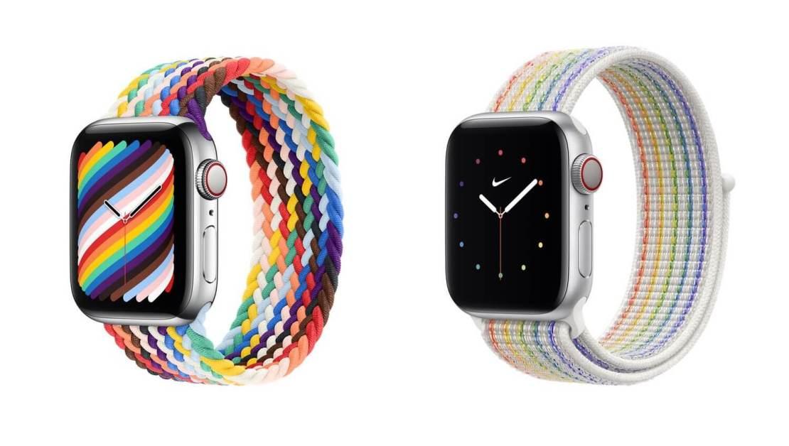 Paski Apple Watch Pride Edition 2021
