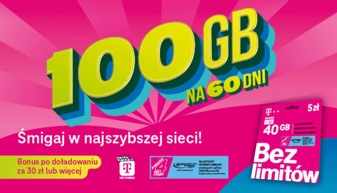 100 GB w prezencie dla klientów T-Mobile na kartę