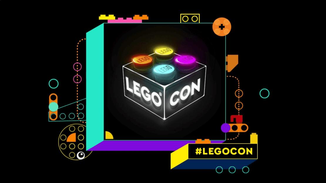 LEGO CON - logo wydarzenia
