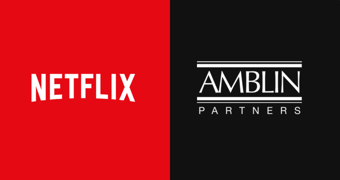 Netflix i Amblin Partners (logo)
