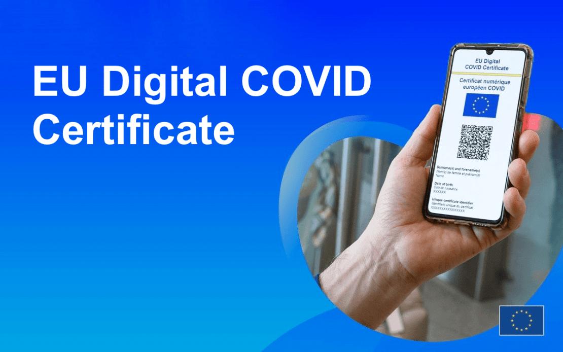 EU Digital COVID Certificate od 1 lipca 2021 roku