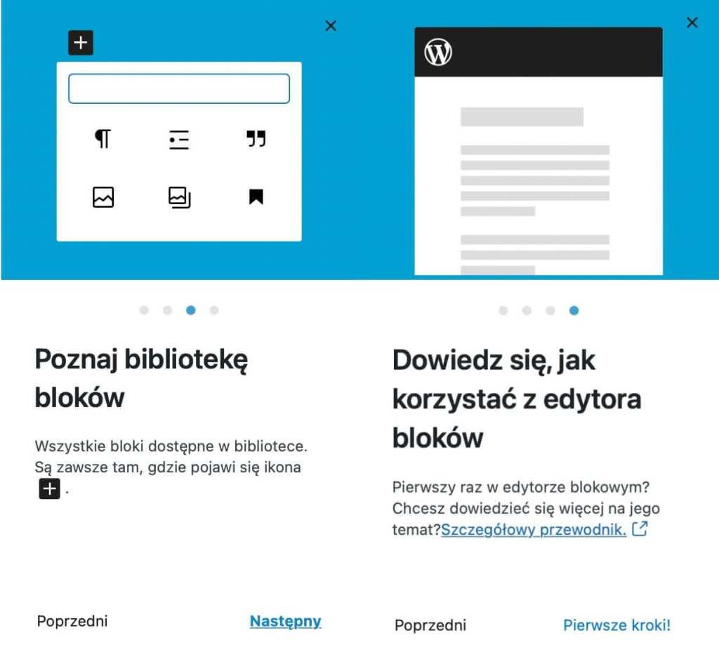 Blokowe widżety w WordPressie 5.8