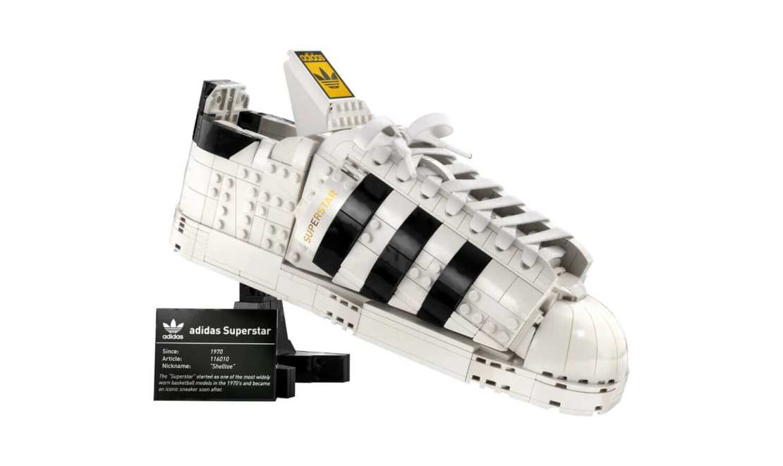LEGO But adidas Originals Superstar