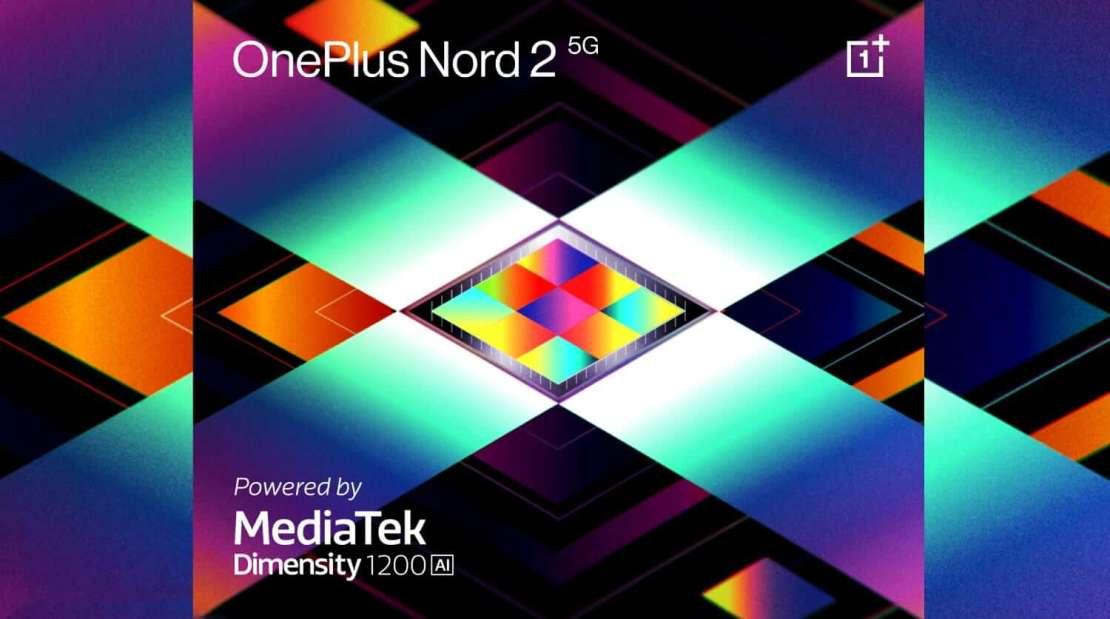 OnePlus Nord 2 5G z Dimensity 1200-AI SoC od MediaTek