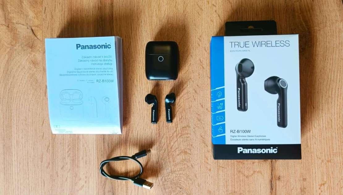 Słuchawki Panasonic RZ-B100W – zawartość opakowania