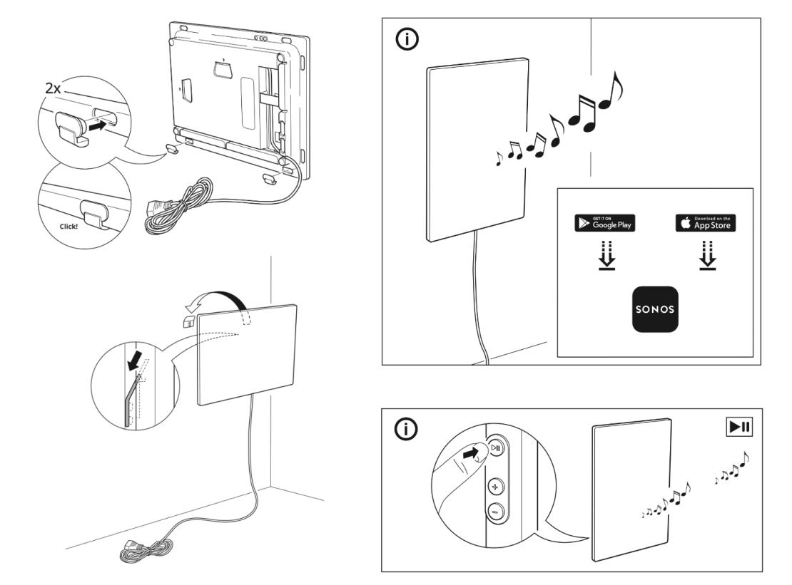 Montaż i uruchamianie ramki z głośnikiem WiFi Symfonisk od IKEA i Sonos