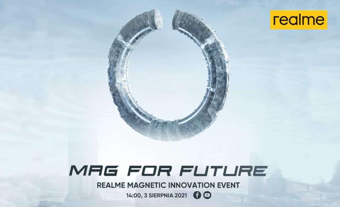 Podczas Magnetic Innovation Event zostanie zaprezentowany MagDart od realme