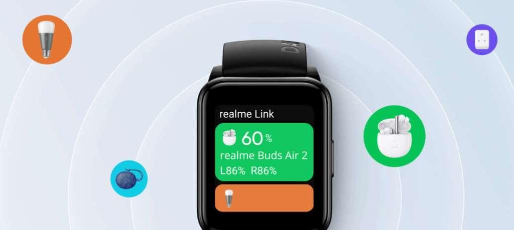 Sterowanie urządzeniami IoT za pomocą zegarka realme Watch 2