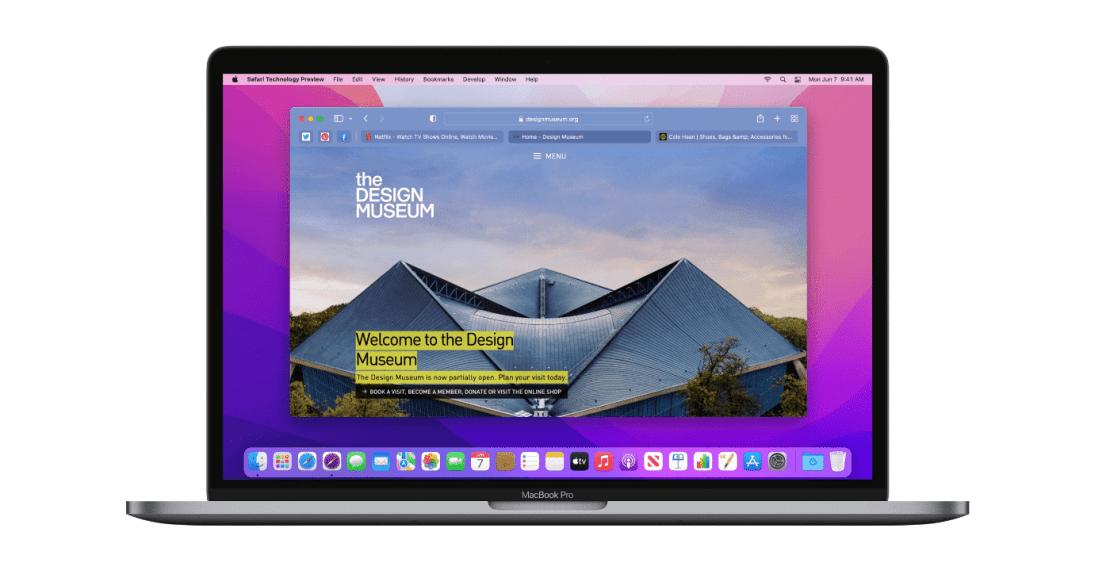 Safari Technology Preview (128) z 21 lipca 2021 r.