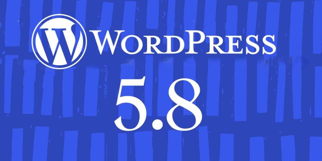 Aktualizacja systemu WordPress 5.8