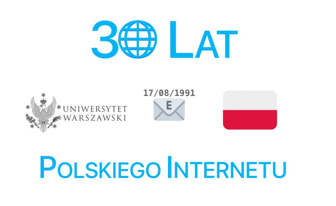 30 lat polskiego Internetu (17 sierpnia)