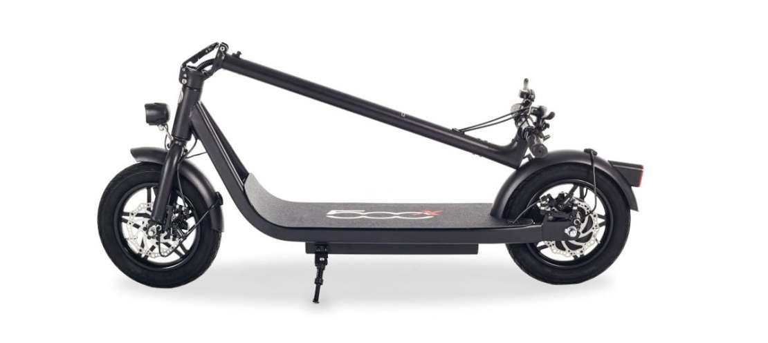 Hulajnoga elektryczna FIAT 500X-F12 z profilu