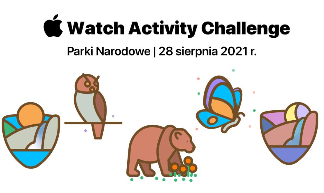 Apple Watch Challenge – Parki Narodowe – 28 sierpnia 2021 r.