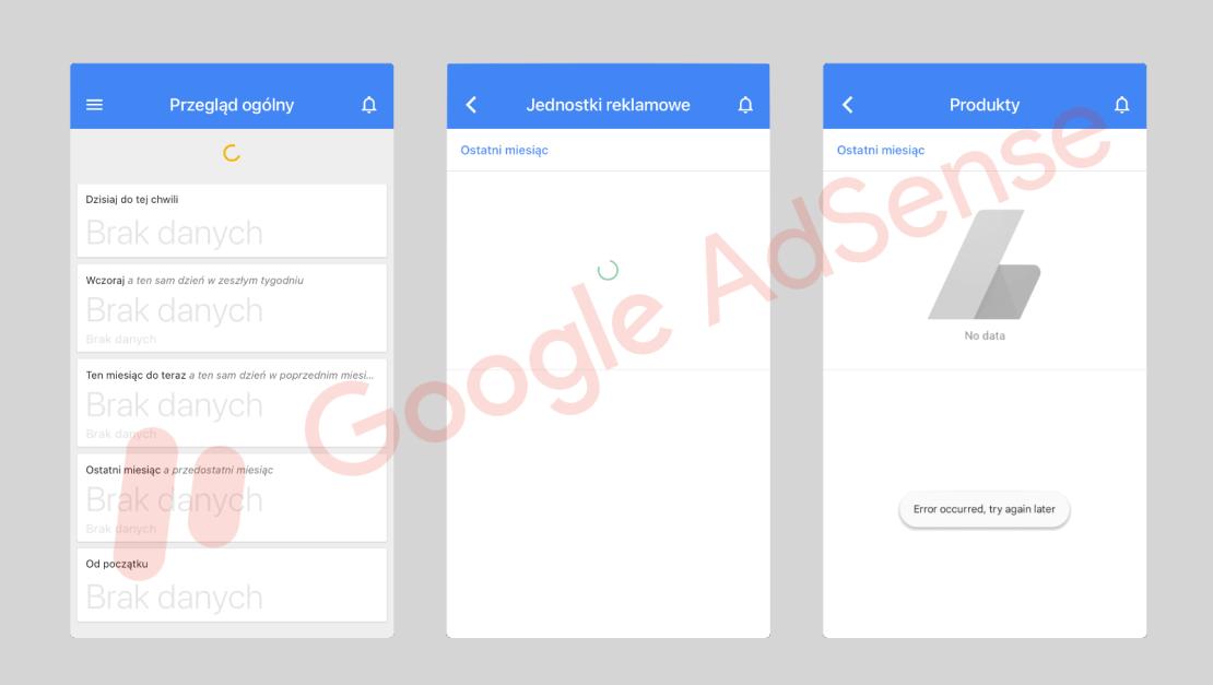 Aplikacja mobilna Adsense już nie działa na urządzeniach z systemami iOS i Android