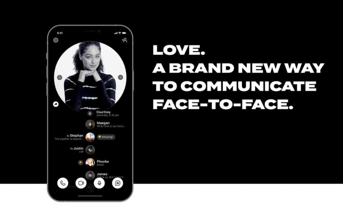 """Komunikator mobilny """"LOVE."""""""