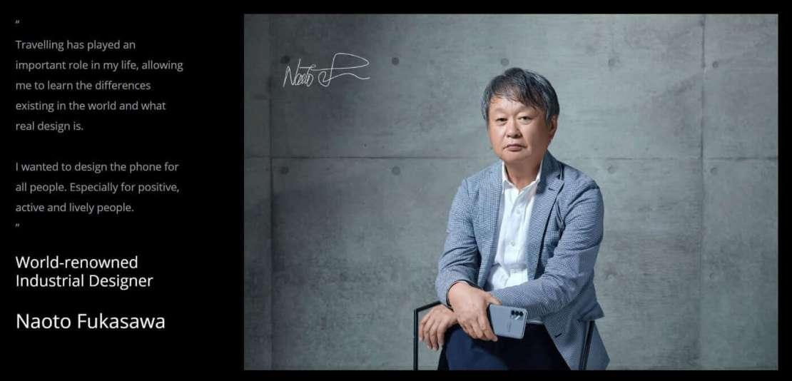 Naoto Fukasawa - projektant smartfona realme GT Master Edition