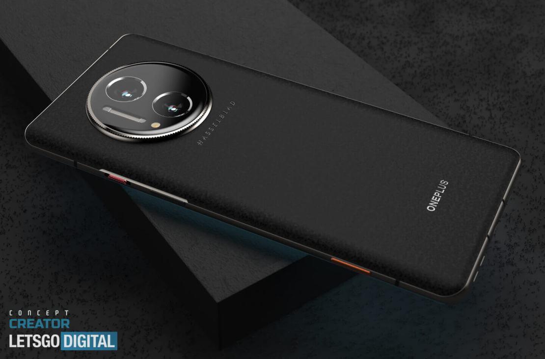 Koncepcja OnePlus 10 Pro z aparatem Hasselblad