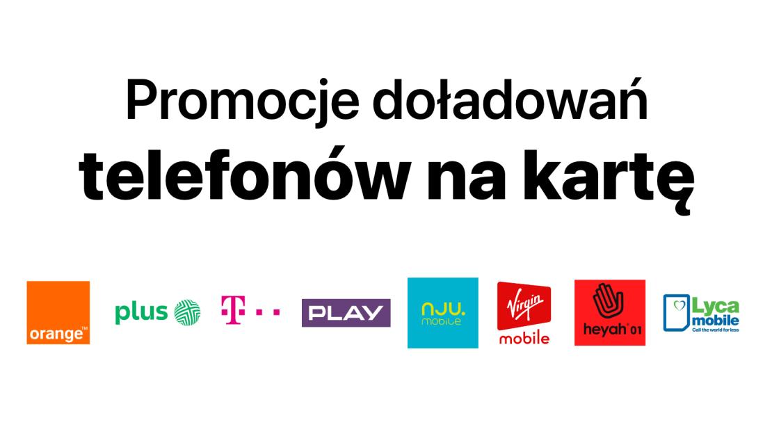 Promocje doładowań telefonów na kartę (Polska)