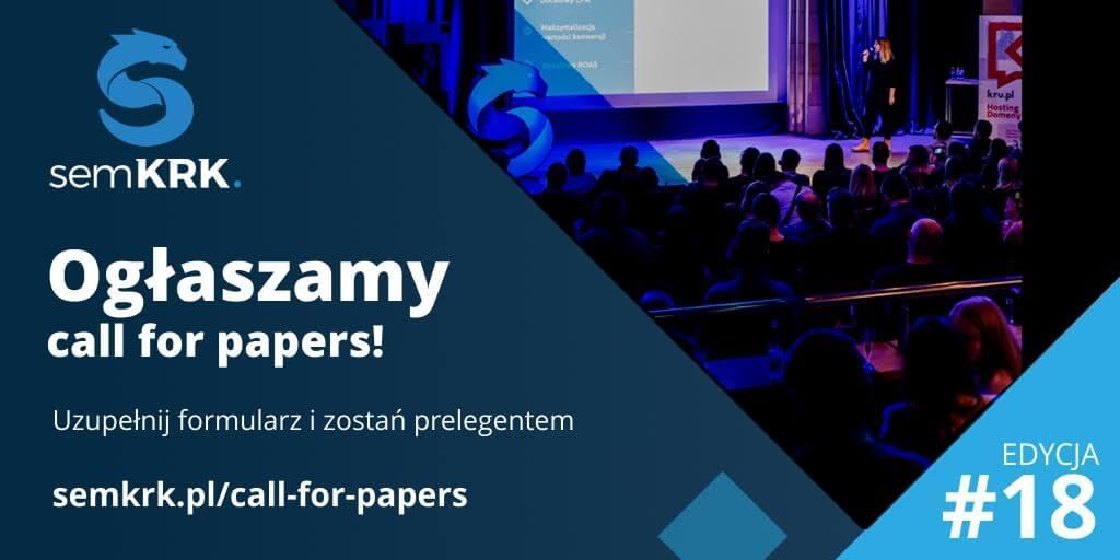 semKRK call for papers (sierpień 2021)