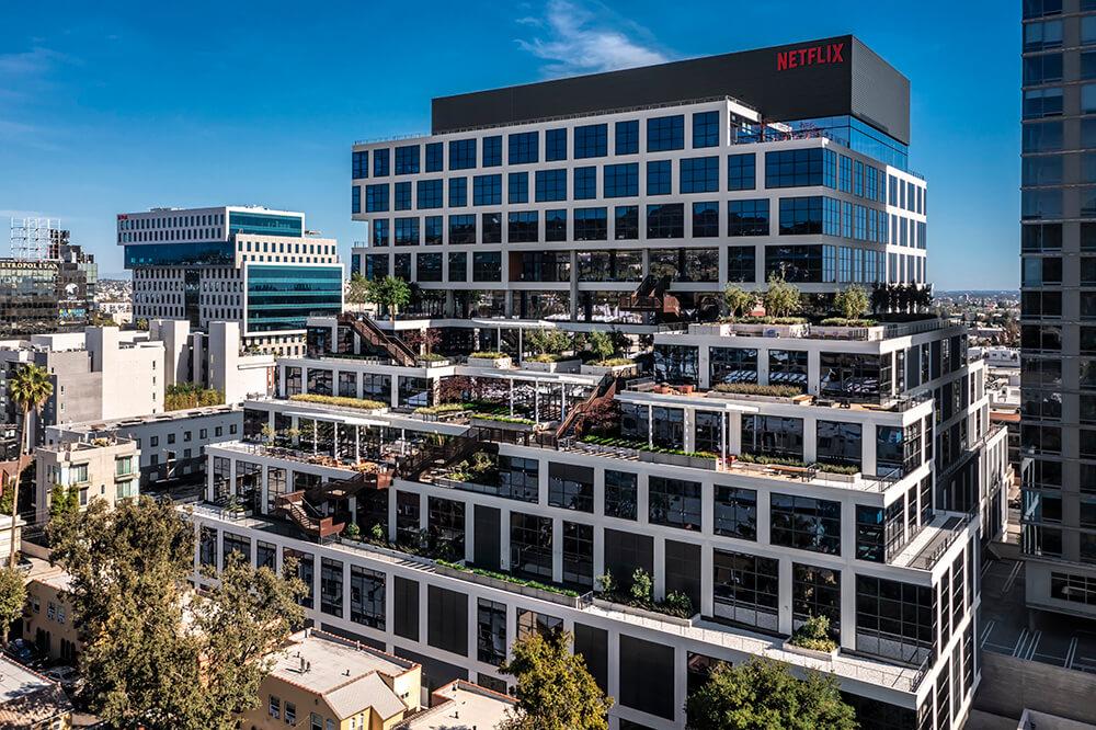 Jedno z biur Netflix w Los Angeles