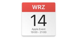 Apple iPhone Event 14 września 2021 r. o godz. 19.00 - dodaj do kalendarza