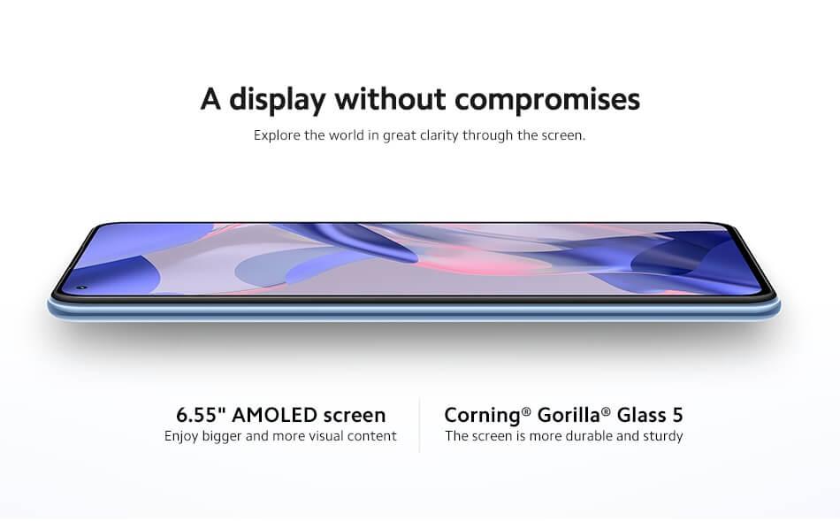 Ekran Xiaomi 11 Lite 5G NE