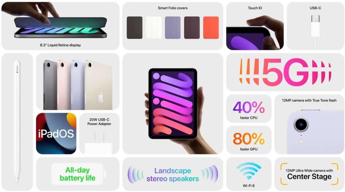 iPad mini z 2021 roku