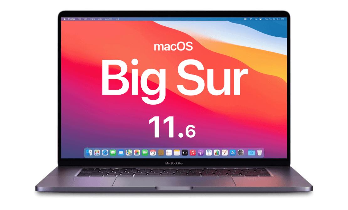 macOS Big Sur 11.6