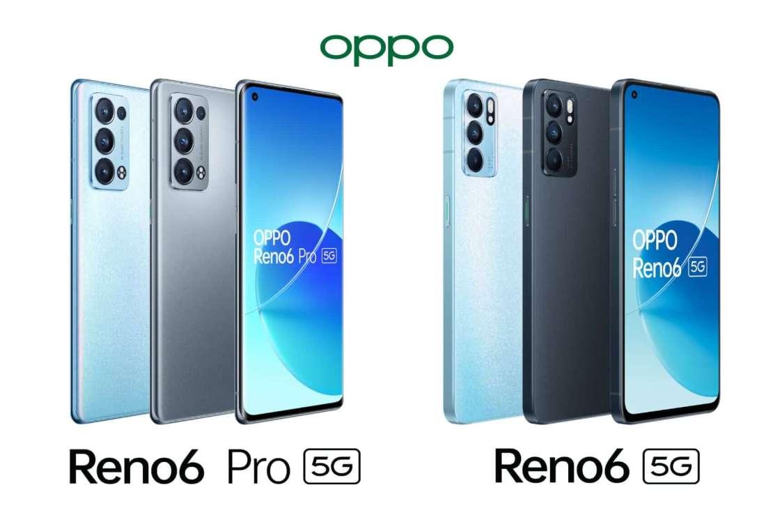 OPPO Reno6 Pro 5G i OPPO Reno6 5G