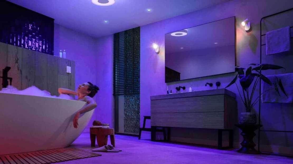 Philips Hue - nowe oświetlenie łazienkowe
