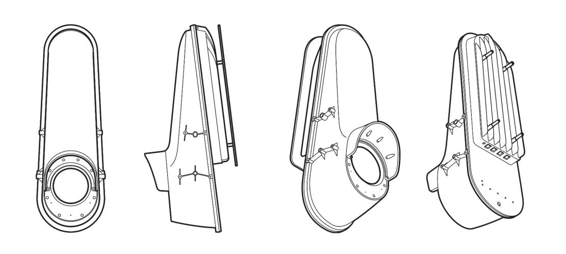 Schemat elementów optycznych Project Taara