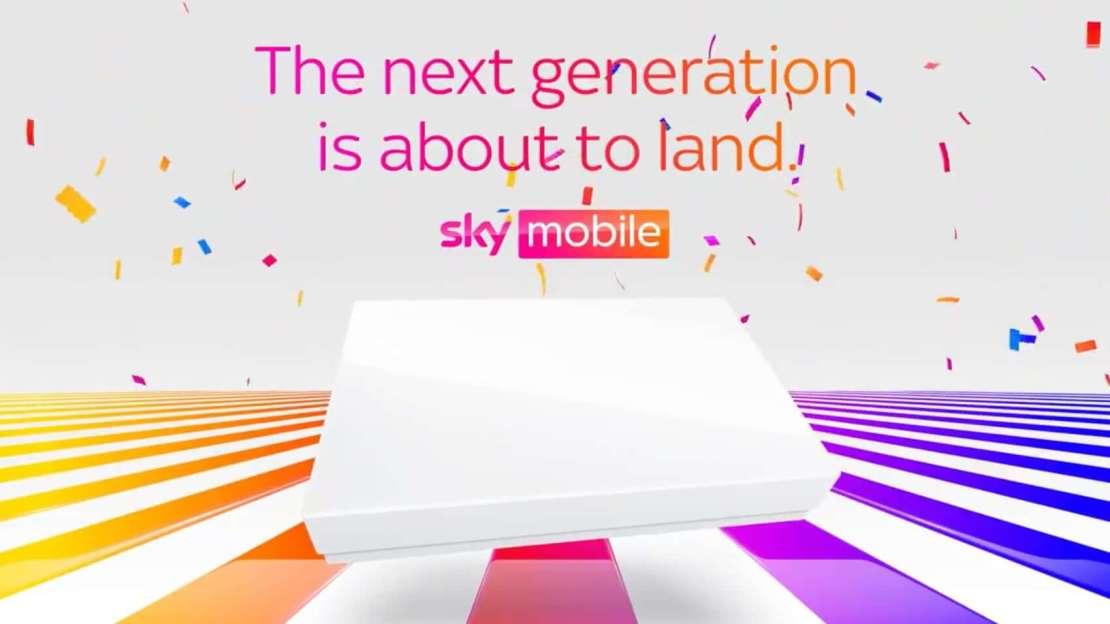 Sky Mobile: teaser iPhone 13 (?)