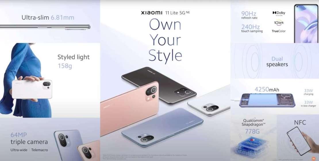 Xiaomi 11T Lite 5G NE