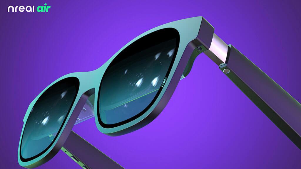 Okulary AR – Nreal Air (bok)