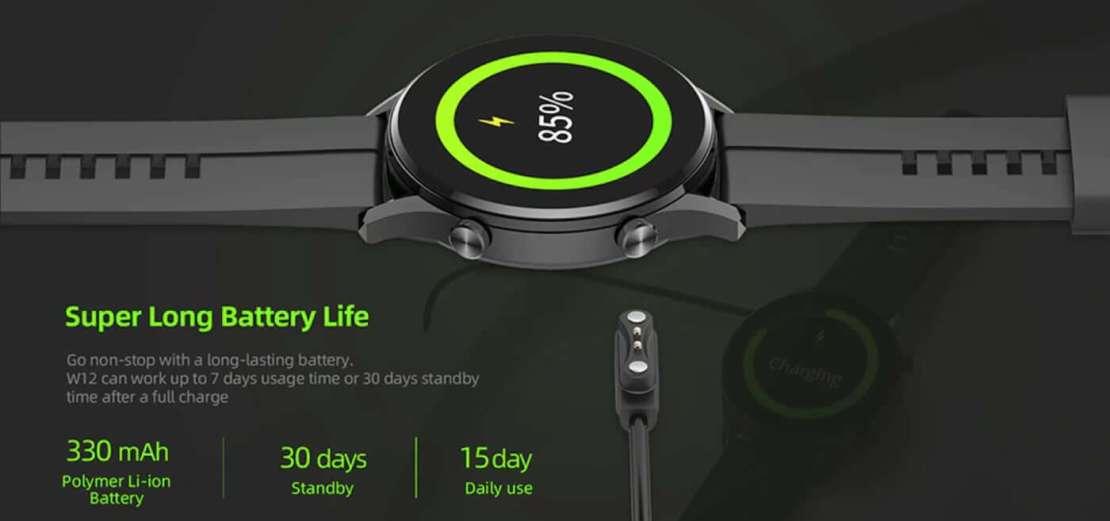 Bateria zegarka IMILAB W12