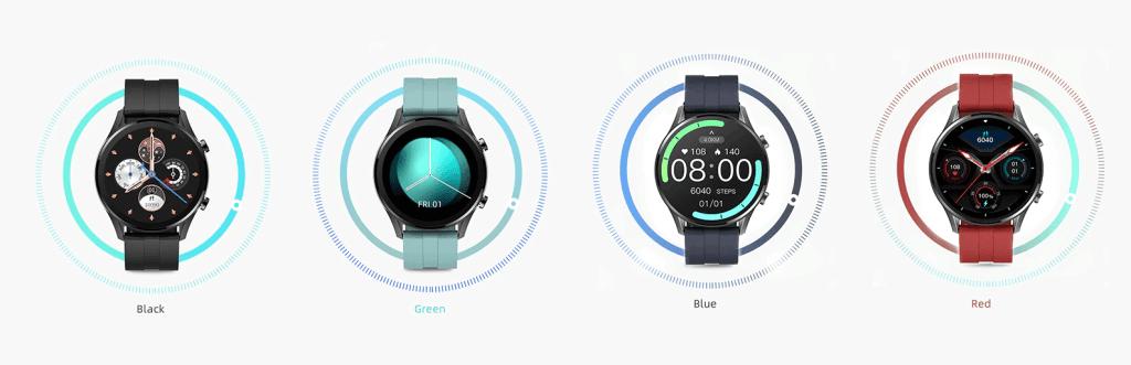 4 kolory pasków do zegarka IMILAB W12