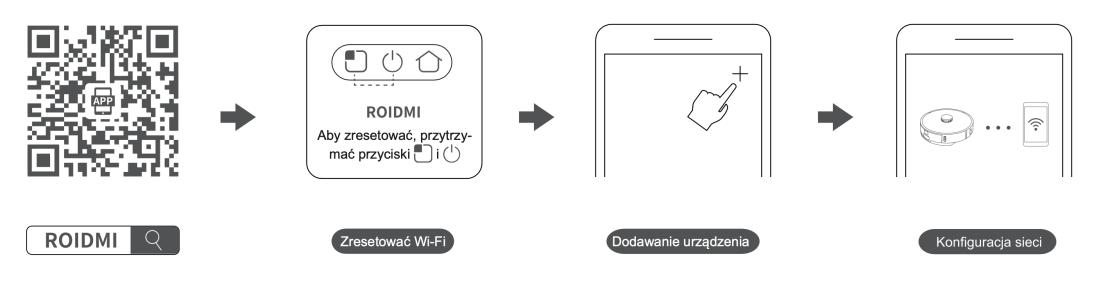 Parowanie robota sprzątającego z aplikacją ROIDMI