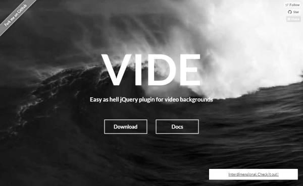 Full-Screen HTML5 Video Background